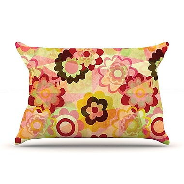 KESS InHouse Colorful Mix Pillow Case; King