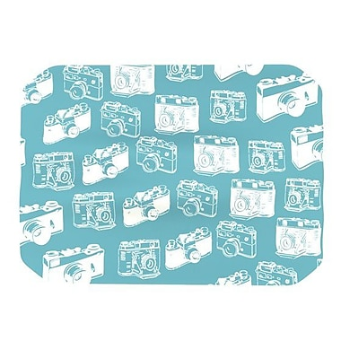 KESS InHouse Camera Pattern Placemat; Blue
