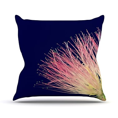KESS InHouse Oh Happy Day Throw Pillow; 20'' H x 20'' W