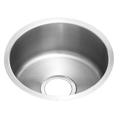 Elkay Lustertone 14'' x 14'' Undermount Kitchen Sink