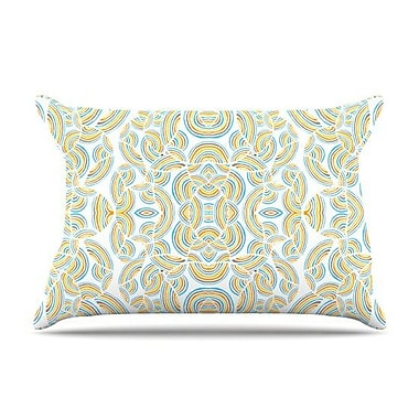 KESS InHouse Infinite Thoughts Pillow Case; King