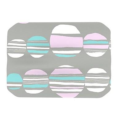 KESS InHouse Retro Circles Placemat; Pastel