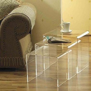HomCom 3 Piece Nesting Tables