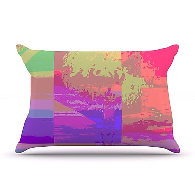 KESS InHouse Impermiate Poster Pillow Case; King