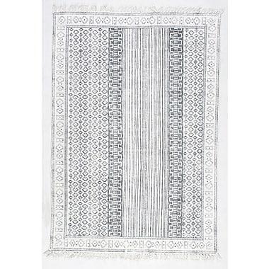 nuLOOM Kameron Handmade Gray Area Rug; 8'6'' x 11'6''