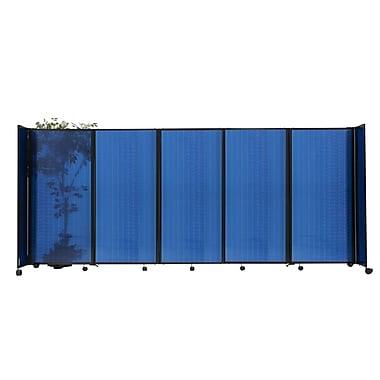 Versare 360 48'' x 300'' Room Divider; Green