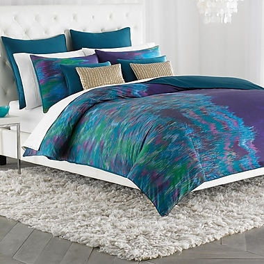 Amy Sia Midnight Storm Duvet Cover; Full / Queen