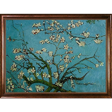 Wildon Home Branches of an Almond Tree in Blossom by Vincent Van Gogh Framed Painting