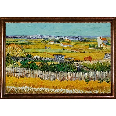 Wildon Home The Harvest by Vincent Van Gogh Framed Painting
