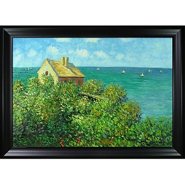 Wildon Home Fishermans Cottage at Varengeville by Claude Monet Framed Painting