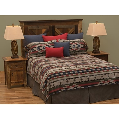 Wooded River Mojave 7 Piece Coverlet Set; Full