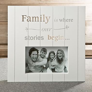 FashionCraft Laser Cut Family Picture Frame