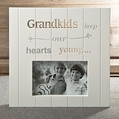 FashionCraft Laser Cut Grandkids Picture Frame