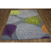 Rug Factory Plus Transition Hand-Tufted Gray Area Rug