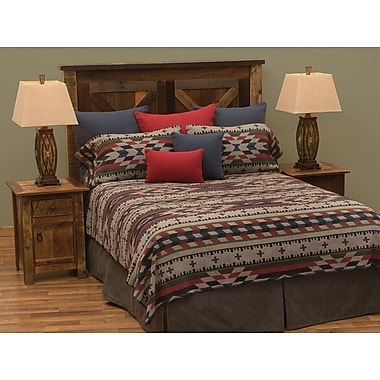 Wooded River Mojave Coverlet Set; Super Queen