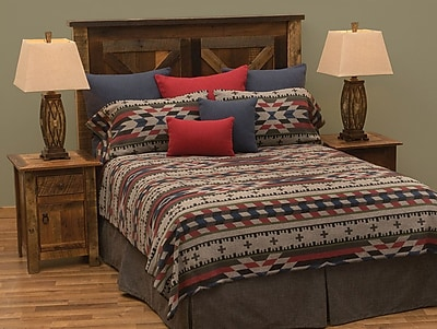 Wooded River Mojave Coverlet Set; Twin