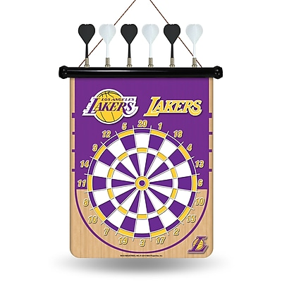 Rico NBA Magnetic Dart Board; Los Angeles Lakers
