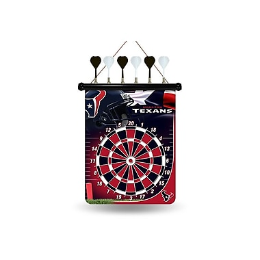 Rico NFL Magnetic Dart Board; Houston Texans