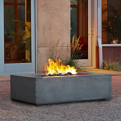 Real Flame Baltic Natural Gas Fire Pit