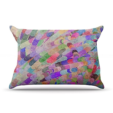 KESS InHouse Abstract Pillow Case; King