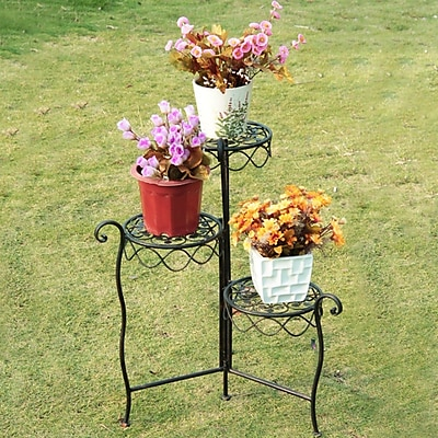 AdecoTrading Multi-Tiered Plant Stand