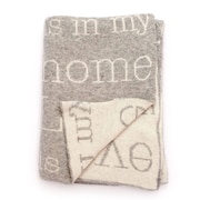 Darzzi Love Is In My Home Lambswool Throw