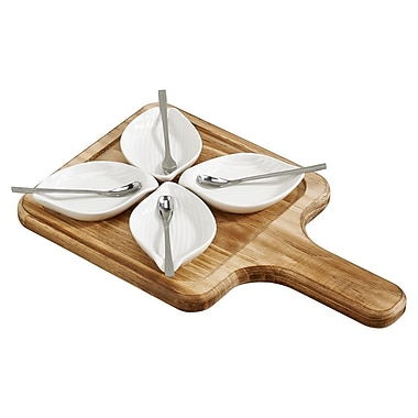 Creative Gifts International 9 Piece Petals Server Set