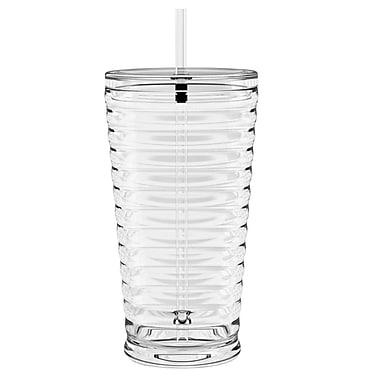 TarHong Hydration 22 oz. Sienna Sipper Tumbler; Clear
