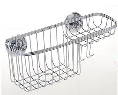Wee's Beyond Stainless Steel Wall Mounted Shower Caddy WYF078278836745