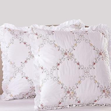Calla Angel Orchard Mist Pillow Sham; Euro