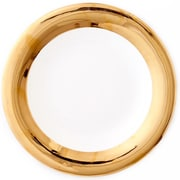 CRU by Darbie Angell Monaco Serving Bowl; 24 KT Gold
