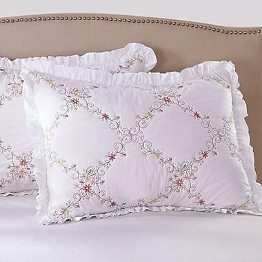 Calla Angel Orchard Mist Pillow Sham; Standard