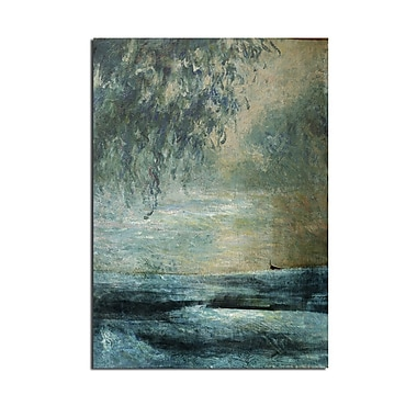 Ready2hangart Abstract Landscape' Oversized Framed Painting Print on Wrapped Canvas