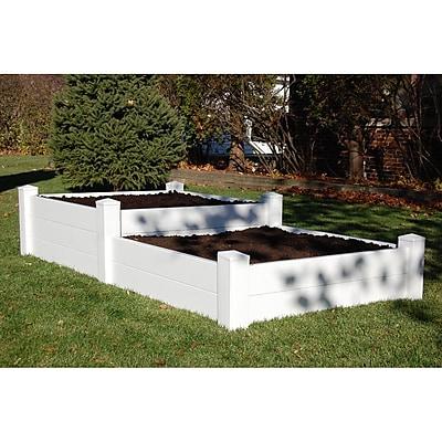 Dura-Trel Inc. 4 ft x 8 ft Vinyl Raised Garden