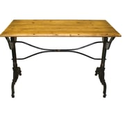 Pangea Home Paul Writing Desk; 31'' H x 47'' W x 24'' D