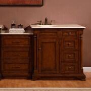 Silkroad Exclusive 59'' Single Sink Cabinet Bathroom Vanity Set