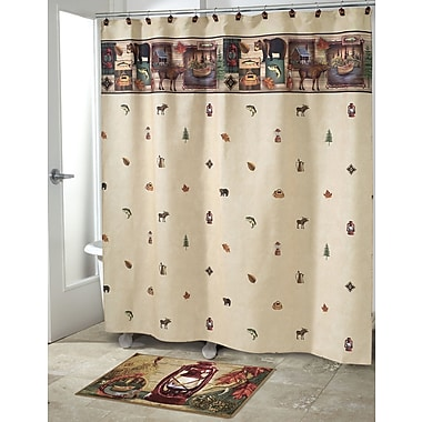 Avanti Linens Camping Trip Shower Curtain