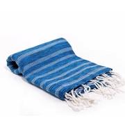Buldano Istanbul Turkish Bath Towel; Blue