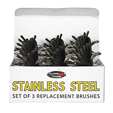 Grillbot 3 Piece Replacement Brushes