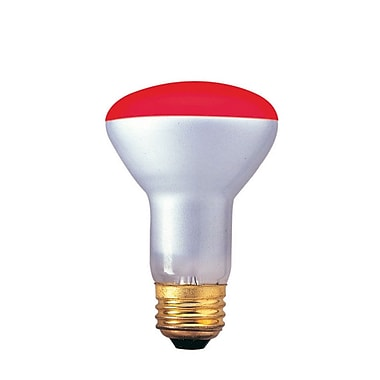 Bulbrite INC R20 50W Dimmable Red Wide Flood 6PK (227050)