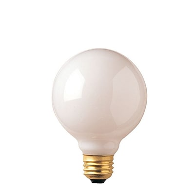 Bulbrite INC G25 25W Dimmable 2700K Warm White 10PK (393002) 963909