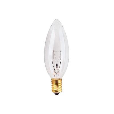 Bulbrite INC B10 5W Dimmable Clear 2700K Warm White 25PK (400005)
