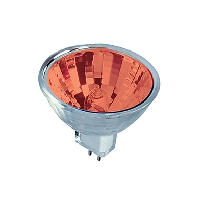 Bulbrite HAL MR11 20W Dimmable Red 36D 5PK (637320)