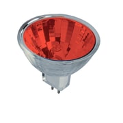 Bulbrite HAL MR16 50W Dimmable Red 36D 5PK (637350)