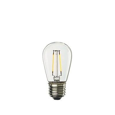 Bulbrite LED S14 2W Dimmable 2700K Warm White 280D 5PK (776551)