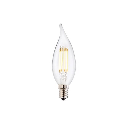 Bulbrite LED CA10 4W Dimmable 2700K Warm White 280D 2PK (776559)