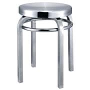 Fine Mod Imports Navy Stool Chair, Aluminum (FMI10008-aluminum)
