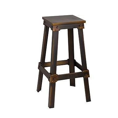 Fine Mod Imports Porch Bar Stool, Copper (FMI10233-copper)