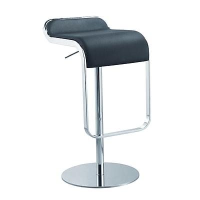 Fine Mod Imports Lem Bar Stool Chair, Black (FMI1135-black)