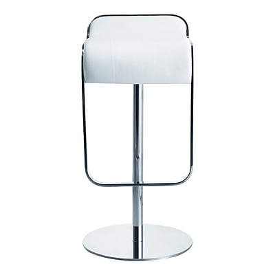 Fine Mod Imports Lem Bar Stool Chair, White (FMI1135-white)